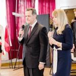 z Ambasadorem Brazylii w Polsce,J.E. Alfredo Leoni
