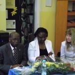 com o Embaixador de Angola em Varsóvia, SE Domingos Culolo