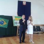 com o Embaixador do Brasil em Varsóvia, SE Alfredo Leoni